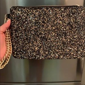 Small tote black & glitter!
